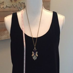 J.Crew pendant with Blue accents
